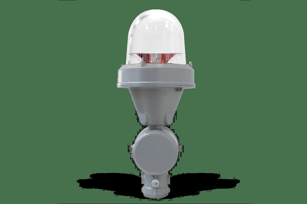 SEGSxxP2K_EX - Lampada Antideflagrante Segnalazione Ostacoli al Volo MIOLB-E1_xxS: Singola, Media Intensità Type B