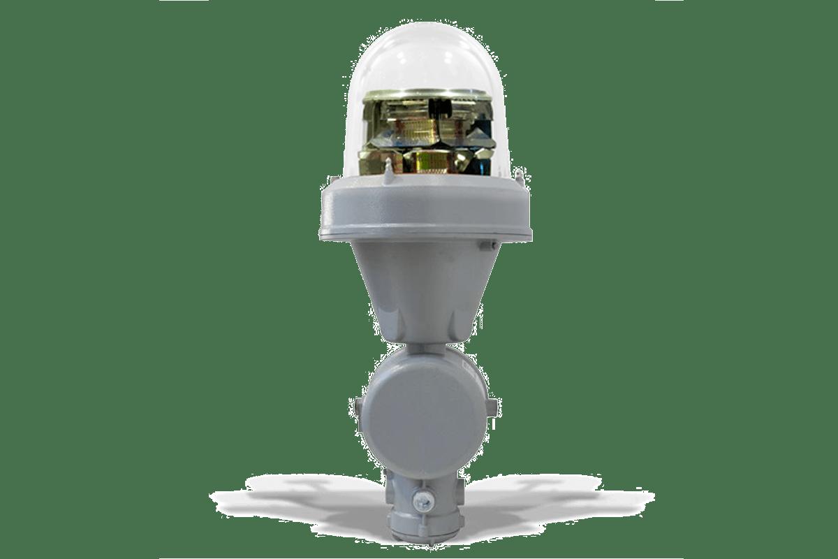Lampada Antideflagrante Segnalazione Ostacoli al Volo MIOLB-E1_xxD: Doppia, Media Intensità Type B