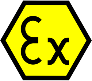 ATEX EU directives describing allowed equipments in environments with explosive atmosphere