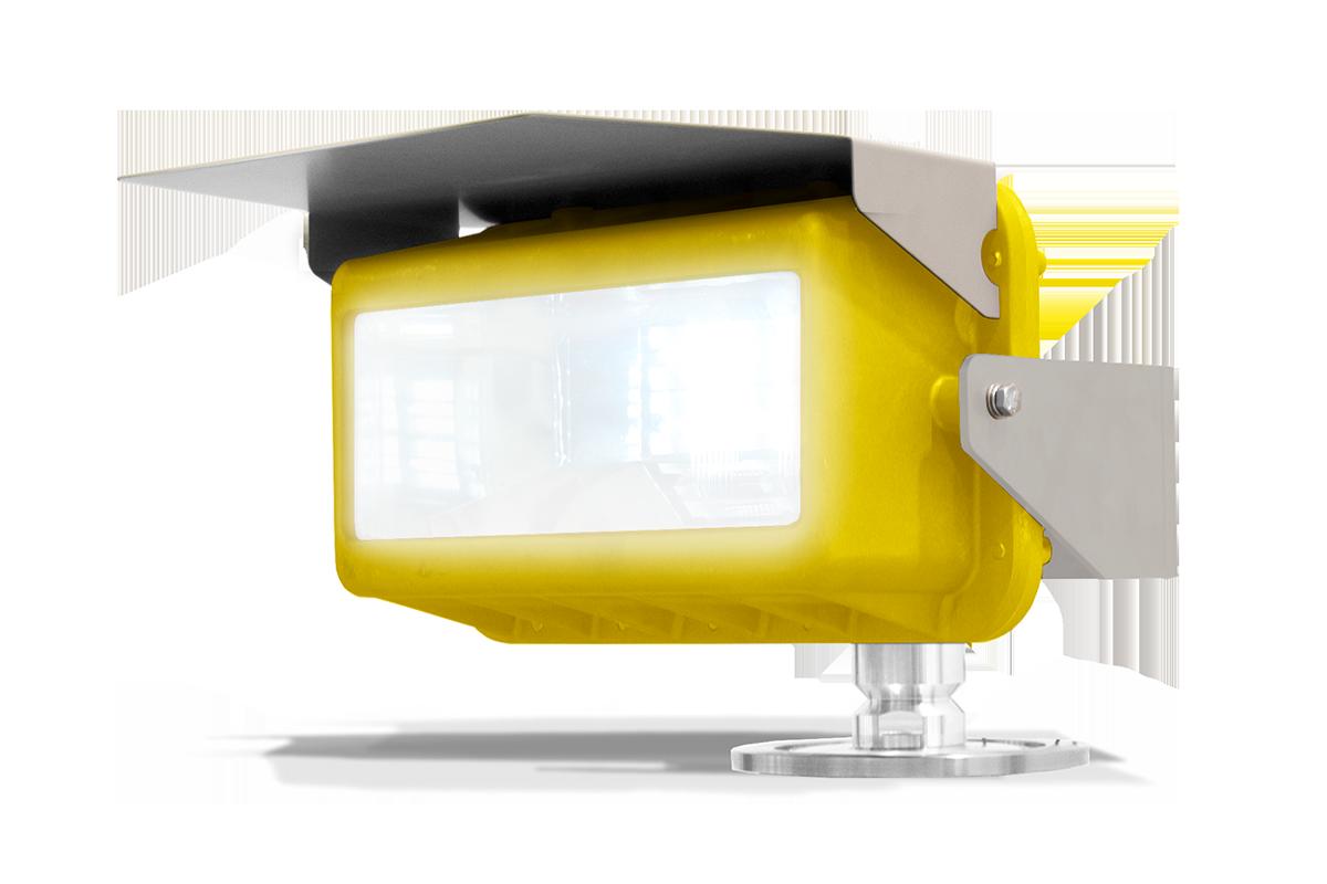 Heliport light SEGS23HFLOOD: Single, Heliport Floodlight. LED light. White Steady.