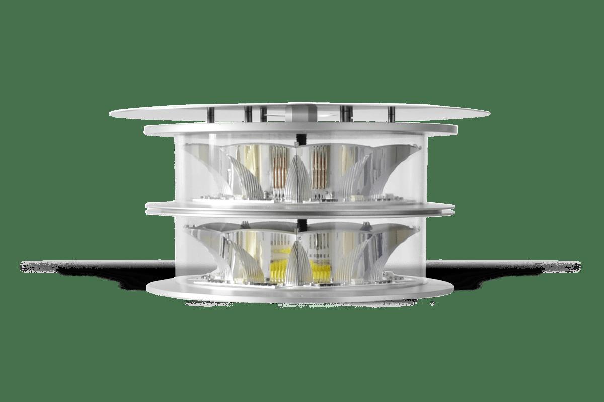 Aircraft Warning Light MIOLAB-M1_48S: Dual mode, Medium Intensity Type A / Type B