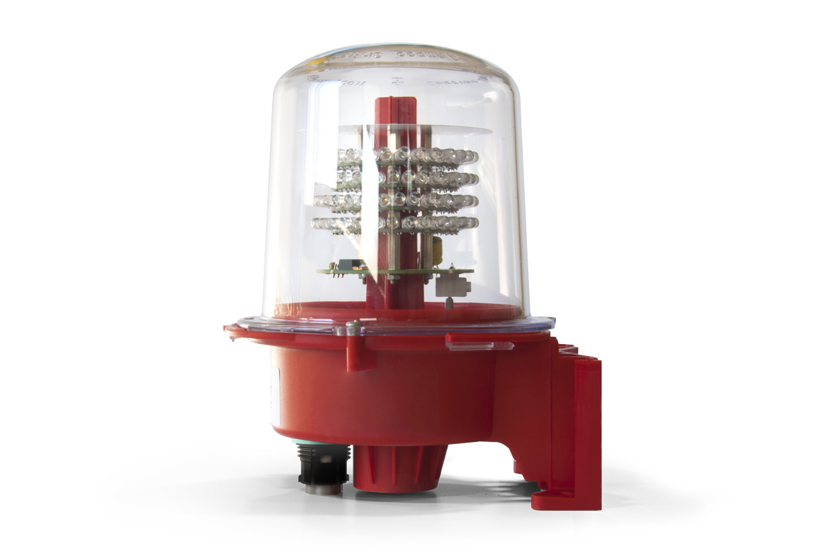 Aircraft Warning Light SEGSxxB32: Single, Low Intensity Type B