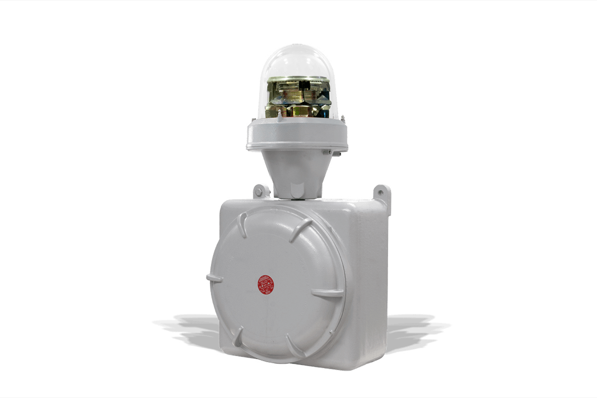Aircraft Warning Light for Explosion Proof MIOLAC-E1_23S: Dual mode, Medium Intensity Type A / Type C