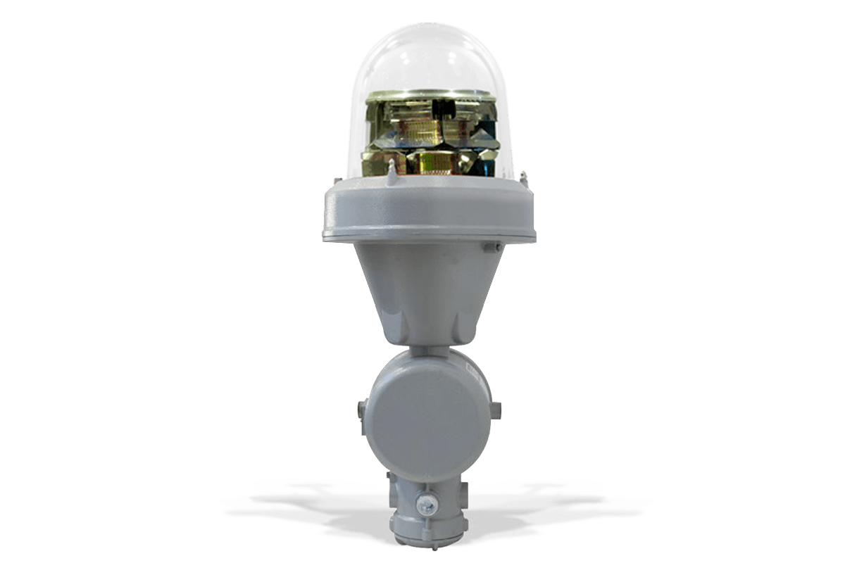 Aircraft Warning Light for Explosion Proof MIOLB-E1_xxD: Double, Medium Intensity Type B